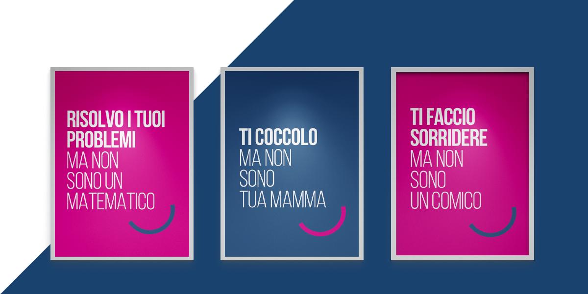 Dental Più Roma campagna opening 70x100