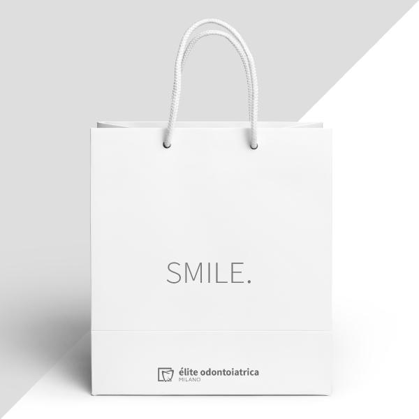Élite odontoiatrica Milano shopping bag