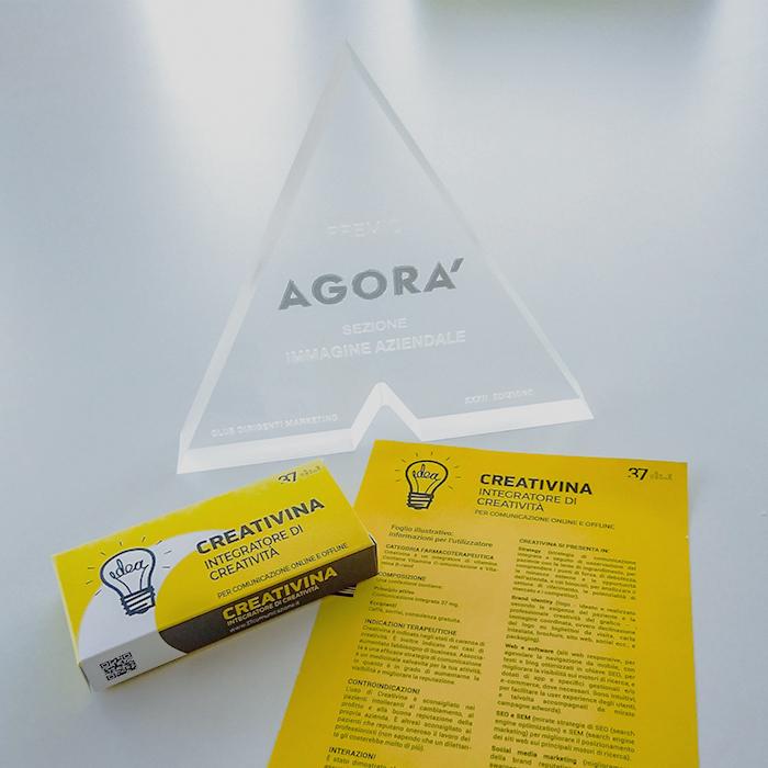 Premio Agora 2019 - Creativina