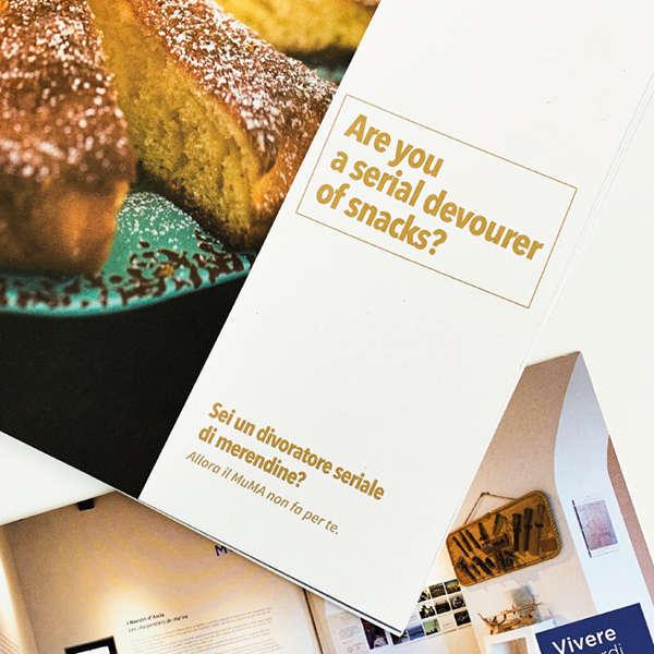 """MuMA Hostel dettaglio opuscolo """"Il MuMA non fa per te"""""""