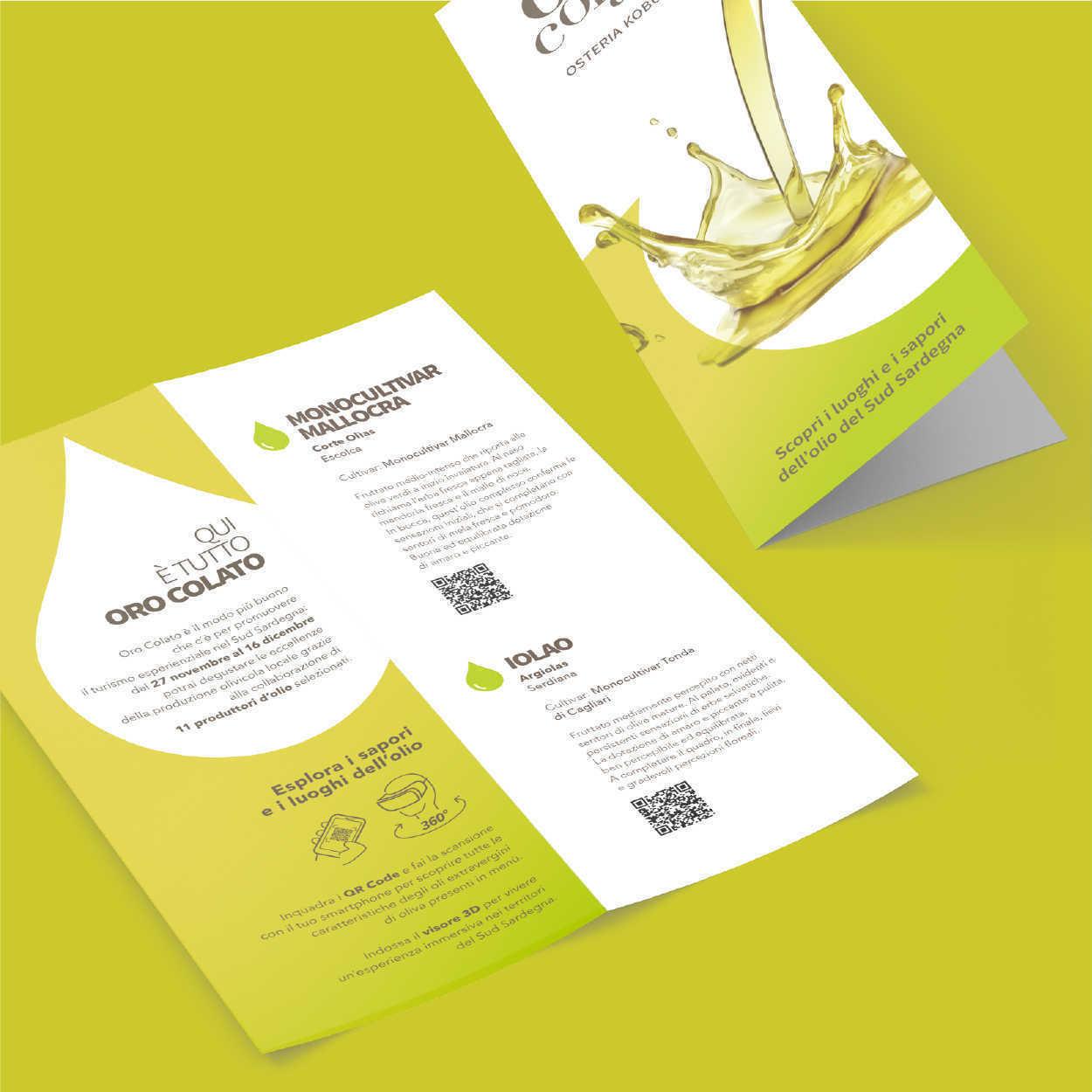 Oro Colato - brochure